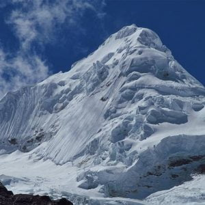 Climbing the Tocllaraju Mountain in Cordillera Blanca