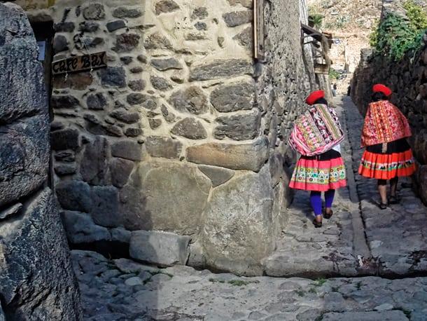 Die wesentlichsten Teile von Süd-Peru
