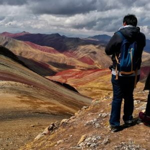 The Rainbow Mountains of Palcoyo: An Adventure off the Traditional Tourist Path