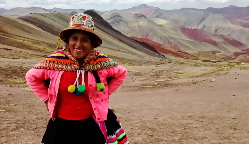 Palcoyo Rainbow Mountain Peru