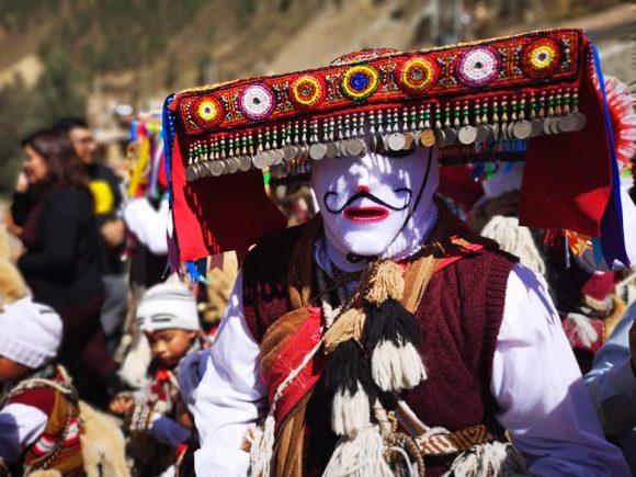 Qhapaq Qolla characters in Paucartambo St. carmen festival