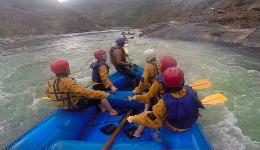 Rafting Peru