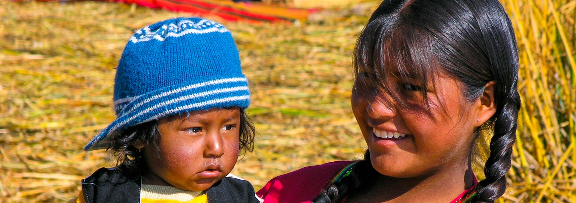 peruvian people from the andes